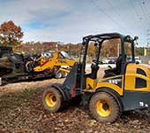 Stanch's Tree Service has the equipment to do light duty land clearing and excavation